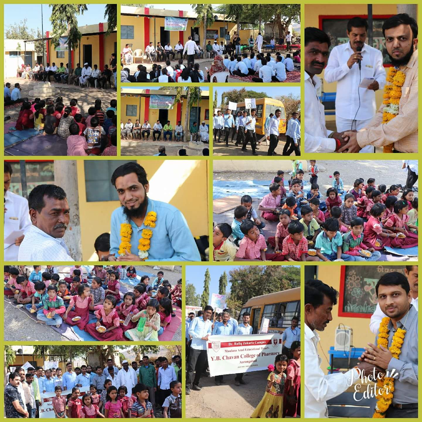 Inauguration Function of NSS Camp at Dhopteshwar Village